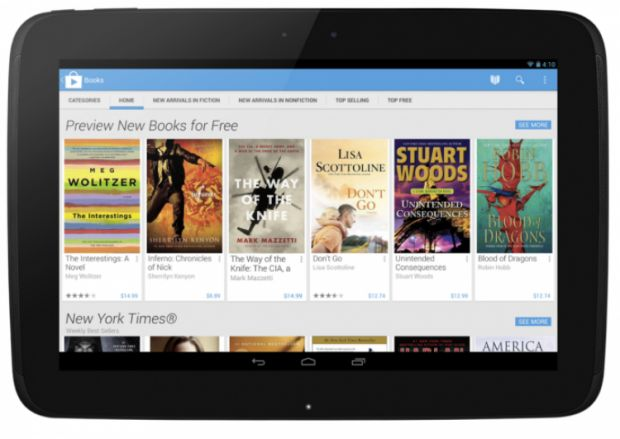 Play Store para tablet