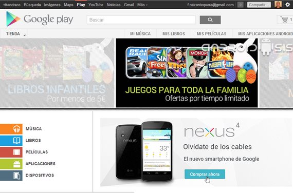Google Play Store para PC